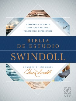 The Biblia de estudio Swindoll NTV (SentiPiel, Café/Azul/Turquesa)