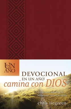 Devocional en un año -- Camina con Dios: The One Year Walk With God Devotional