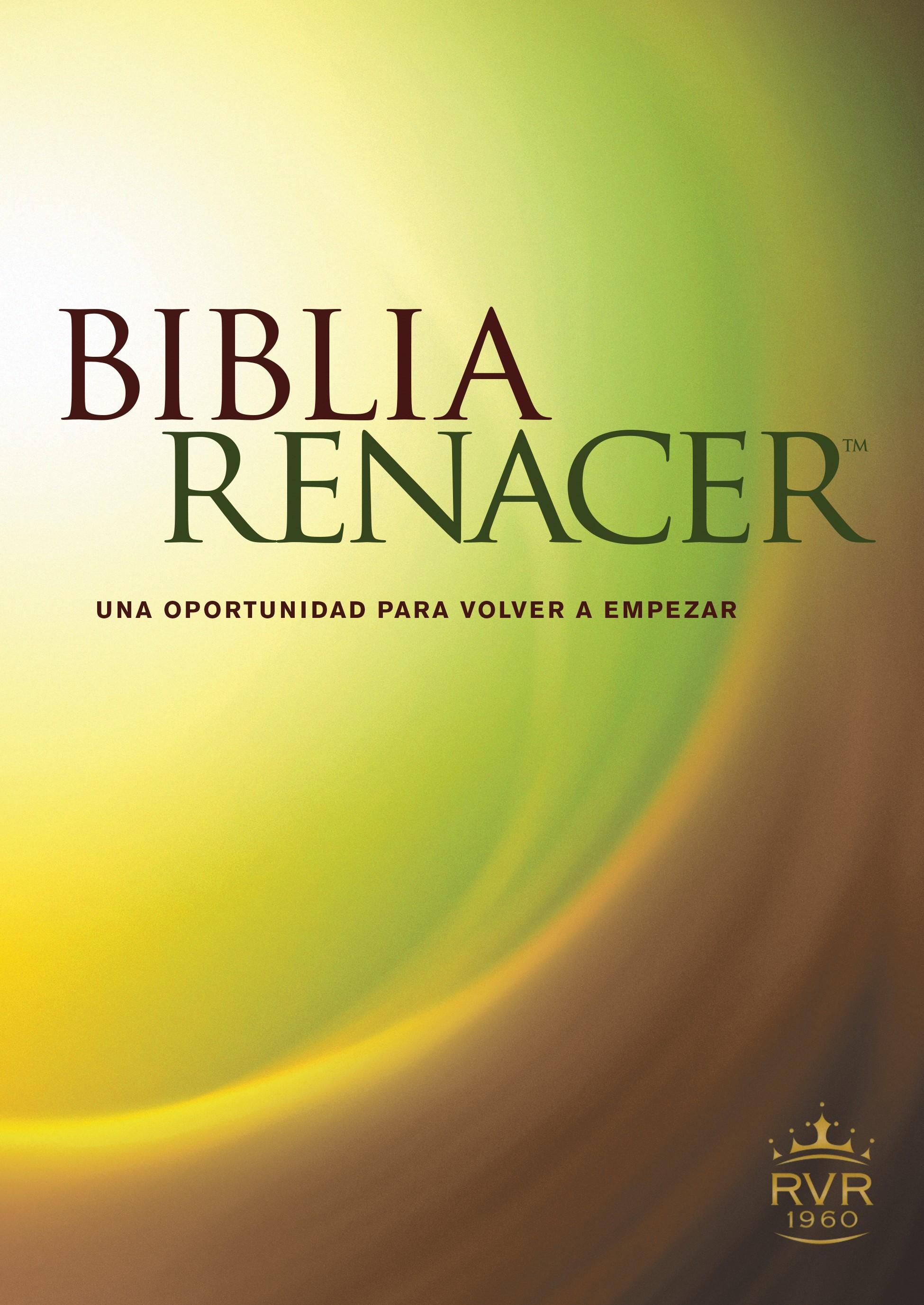 Biblia Renacer RVR60 (Tapa rústica)