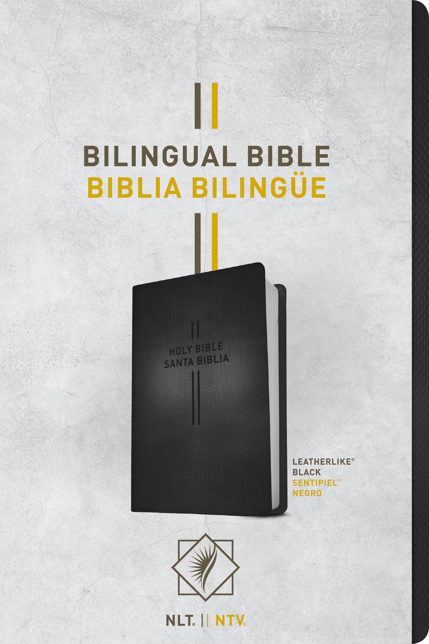 Bilingual Bible / Biblia bilingüe NLT/NTV