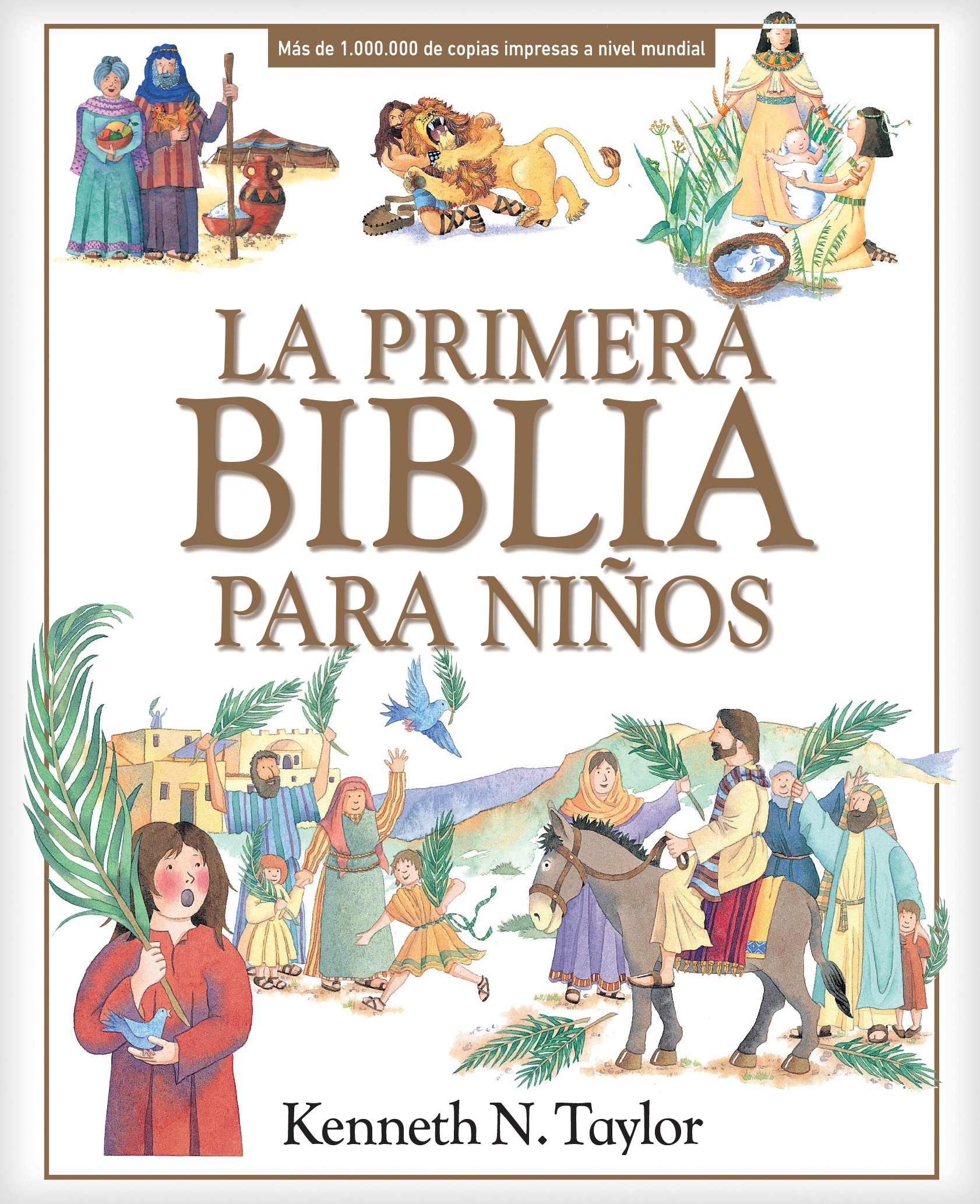 A La primera Biblia para niños