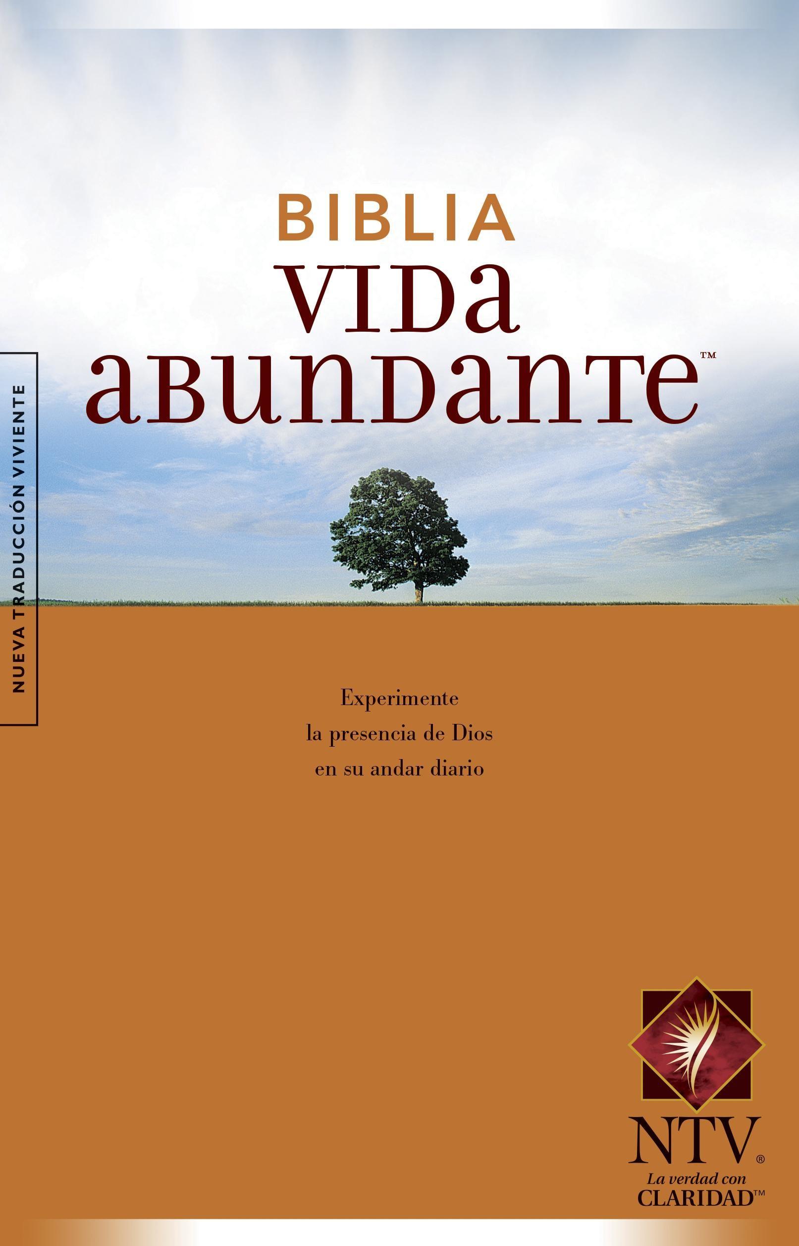 Biblia Vida abundante NTV (Tapa rústica)
