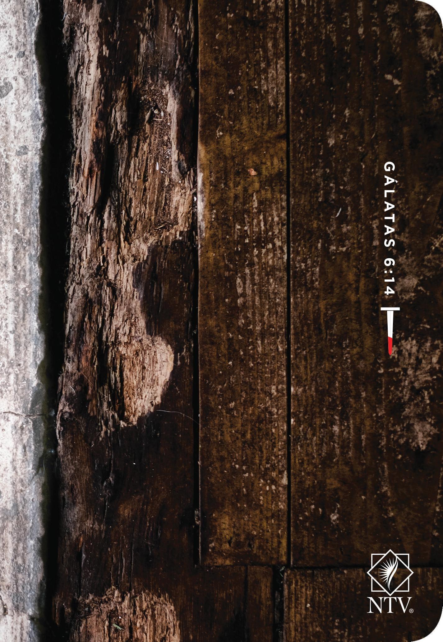 Santa Biblia NTV, Edición compacta letra grande, Gálatas 6:14: Holy Bible NTV, Compact Edition, Large Print, Galatians 6:14