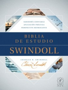 The Biblia de estudio Swindoll NTV (SentiPiel, Café/Café claro)