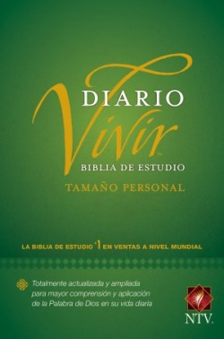 Biblia de estudio del diario vivir NTV, tamaño personal (Letra Roja, Tapa dura)