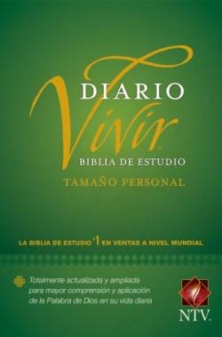 Biblia de estudio del diario vivir NTV, tamaño personal (Letra Roja, Tapa rústica)
