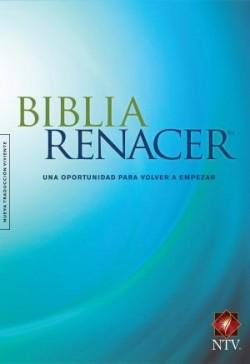 The Biblia Renacer NTV (Tapa rústica, Azul)