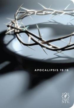 Santa Biblia NTV, Edición compacta letra grande, Apocalipsis 19:16 (Letra Roja, SentiPiel)