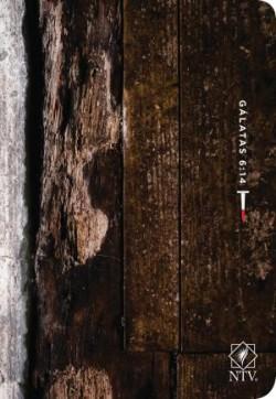 Santa Biblia NTV, Edición compacta letra grande, Gálatas 6:14 (Letra Roja, SentiPiel)