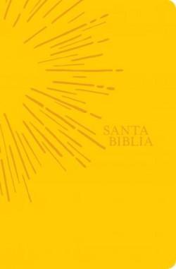 Santa Biblia NTV, Edición ágape, Sol (SentiPiel, Amarillo)