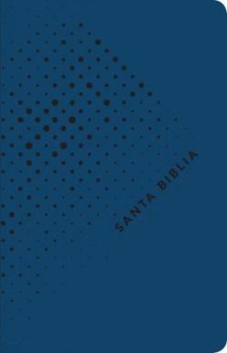 Santa Biblia NTV, Edición ágape, Noche (SentiPiel, Azul)
